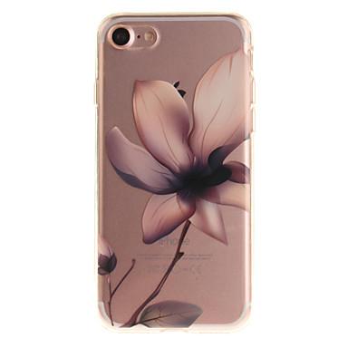 Για IMD tok Πίσω Κάλυμμα tok Λουλούδι Μαλακή TPU για Apple iPhone 7 Plus iPhone 7 iPhone 6s Plus/6 Plus iPhone 6s/6 iPhone SE/5s/5