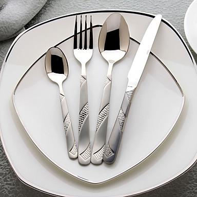 Paslanmaz Çelik 304Akşam Yemeği Çatalı / Akşam Yemeği Bıçağı / Çay Kaşığı / Set / Yemek Sosu Kepçesi / Servis Kaşıkları / Et Çatalı /