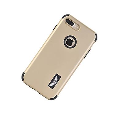 Için Şoka Dayanıklı Pouzdro Arka Kılıf Pouzdro Solid Renkli Sert PC için AppleiPhone 7 Plus / iPhone 7 / iPhone 6s Plus/6 Plus / iPhone