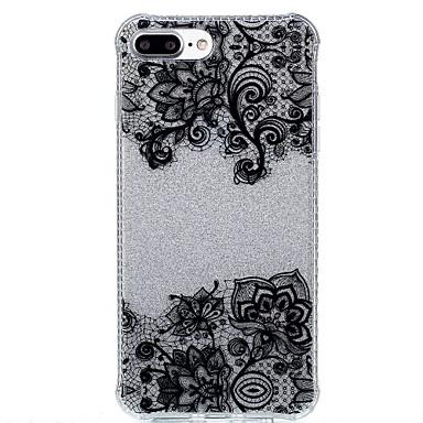 케이스 제품 Apple IMD 패턴 뒷면 커버 꽃장식 소프트 TPU 용 아이폰 7 플러스 아이폰 (7) iPhone 6s Plus iPhone 6 Plus iPhone 6s 아이폰 6 iPhone SE/5s iPhone 5