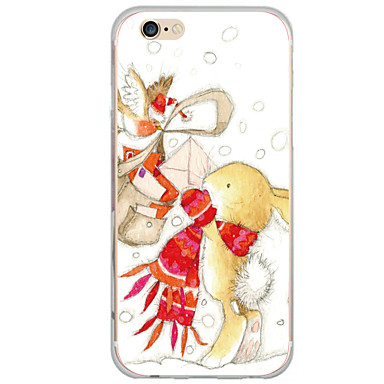 Varten Kuvio Etui Takakuori Etui Piirros Kova PC varten AppleiPhone 7 Plus / iPhone 7 / iPhone 6s Plus/6 Plus / iPhone 6s/6 / iPhone
