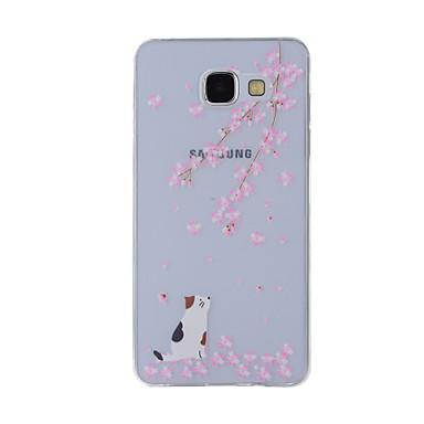 Kılıf Na Samsung Galaxy A5(2016) A3(2016) Wzór Etui na tył Kot Miękkie TPU na A8(2016) A5(2016) A3(2016) A8 A7 A5 A3