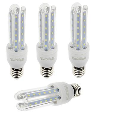 YouOKLight 7W 550-600 lm E26/E27 LED 콘 조명 T 36 LED가 SMD 2835 장식 따뜻한 화이트 차가운 화이트 AC 85-265V