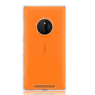 Voor Nokia hoesje Hoesje cover Transparant Achterkantje hoesje Effen Kleur Hard PC voor Nokia Nokia Lumia 830