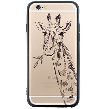 Για Με σχέδια tok Πίσω Κάλυμμα tok Ζώο Μαλακή Ακρυλικό για Apple iPhone 6s Plus/6 Plus / iPhone 6s/6 / iPhone SE/5s/5
