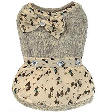 Pies Swetry Ubrania dla psów Codzienne Motyw zwierzęcy Gray Kostium Dla zwierząt domowych