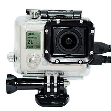Koruyucu Kılıf Lens Filtreleri İçin Aksiyon Kamerası Gopro 3 Gopro 2 Kar Arabacılığı Botla Kayakçılık Tekneli Sörfçülük Kayak