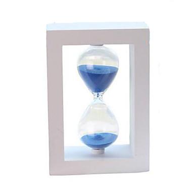Klepsydra Zabawki Kwadrat Kryształ Drewniany Szkło Dla chłopców Dla dziewczynek 1 Sztuk