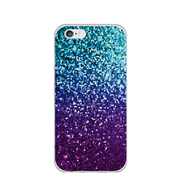 Case For Apple iPhone 6 iPhone 6 Plus Ultra-thin Pattern Back Cover Glitter Shine Soft TPU for iPhone 6s Plus iPhone 6s iPhone 6 Plus