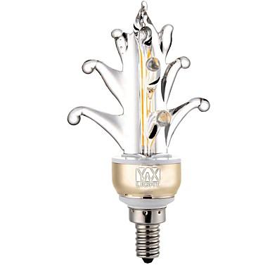 YWXLIGHT® 400-500lm E12 Oświetlenie dekoracyjne 2 Koraliki LED COB Dekoracyjna Ciepła biel Zimna biel 110V