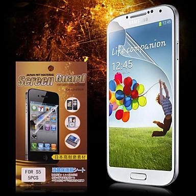 Ekran Koruyucu için Samsung Galaxy S4 PET Ön Ekran Koruyucu Yüksek Tanımlama (HD)