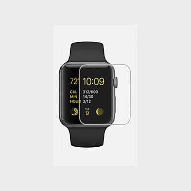 38 42 χιλιοστά προστατευτικό οθόνης HD με αντι-φούσκα& αντι-δακτυλικών αποτυπωμάτων για το ρολόι της Apple (0,26 χιλιοστά)