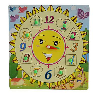 Puzzle Układanki z uchwytami Model drewna Zabawka edukacyjna Kwadrat Zabawne Drewniany Dzień Dziecka