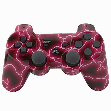 بلوتوث وحدات تحكم - سوني PS3 بلوتوث ألعابالمقبض قابلة لإعادة الشحن لاسلكي 19-24h