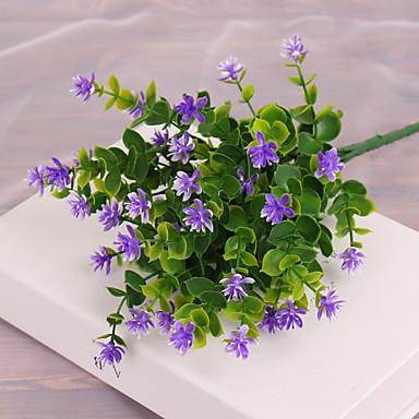 Sztuczne Kwiaty 1 Gałąź Pasterski Styl Rośliny Bukiety na stół