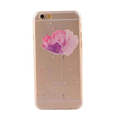 modelul elegant de proiectare tpu acoperă moale pentru cazurile iPhone iphone 6 / 6s