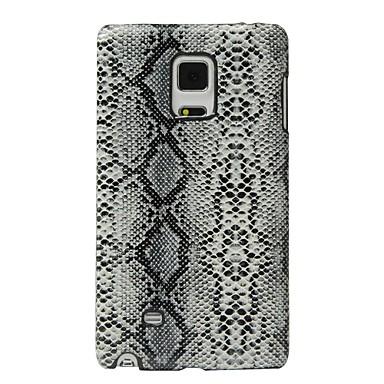 Kılıf Na Samsung Galaxy Odporne na wstrząsy Czarne etui Linie / fale Twarde Skóra PU na Note Edge