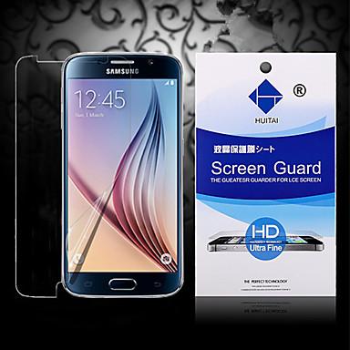 Screenprotector voor Samsung Galaxy S6 edge PET Voorkant screenprotector High-Definition (HD)