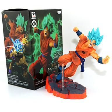 Anime Φιγούρες Εμπνευσμένη από Dragon Ball Son Goku PVC 14 CM μοντέλο Παιχνίδια κούκλα παιχνιδιών