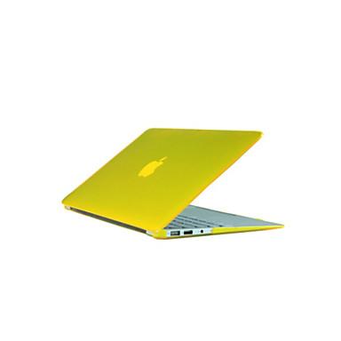 ieftine Carcase Macbook & Genți Macbook & Huse Macbook-MacBook Carcase Carcase integrale Mată / Transparent ABS pentru MacBook Pro 13-inch / MacBook Air 11-inch / MacBook Pro Retina kijelzős, 13 hüvelyk