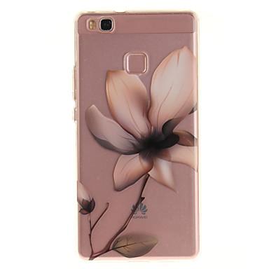 Dla huawei p9 lite p8 lite tpu materiał imd proces magnolia wzór telefon skrzynka dla y6ii cieszyć się 5 honor 8