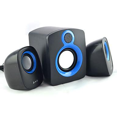 Regał głośników komputerowych 2.1 Przenośny Lampka LED Stereo Dźwięk przestrzenny Super Bass