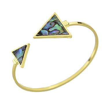 Γυναικεία Χειροπέδες Βραχιόλια Φιλία Κράμα Cross Shape Κοσμήματα Χρυσαφί Κοσμήματα Για Causal 1pc