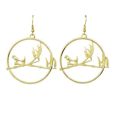 Κρεμαστά Σκουλαρίκια Κράμα Μοντέρνα Χρυσό Ασημί Κοσμήματα Causal 1 ζευγάρι