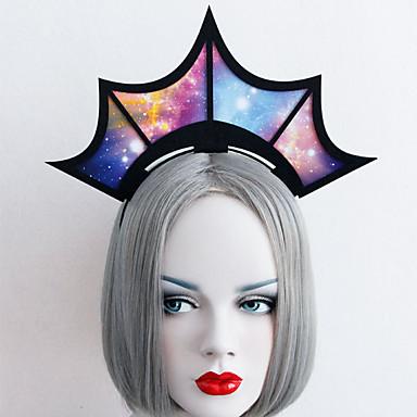 Headpiece Innoittamana Cosplay Cosplay Anime Cosplay-Tarvikkeet Päähine Kuitukangas Miesten Naisten Lasten