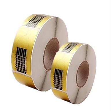 500szt narzędzia manicure uchwyt na papier kwadratowych papieru rozszerzenie akryle papieru fototerapia rozszerzyć pakiet