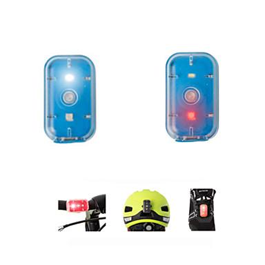 turvavalot Polkupyörän jarruvalo Polkupyörän etuvalo Pyöräily Ladattava Helppo kantaa Pienikokoiset Vaihtuva väri Lumenia USB
