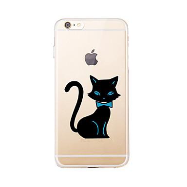 Na Przezroczyste / Wzór Kılıf Etui na tył Kılıf Kot Miękkie TPU na AppleiPhone 7 Plus / iPhone 7 / iPhone 6s Plus/6 Plus / iPhone 6s/6 /