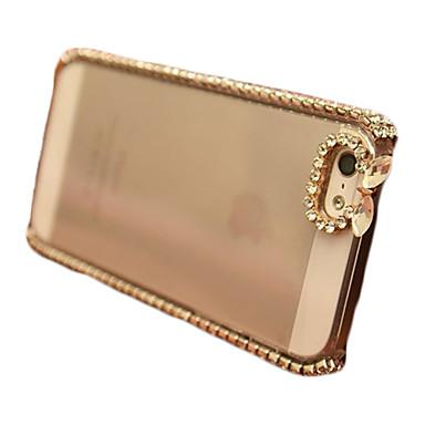 diamant schijnt shining ingericht transparante hoesje voor iPhone 5c (verschillende kleuren)