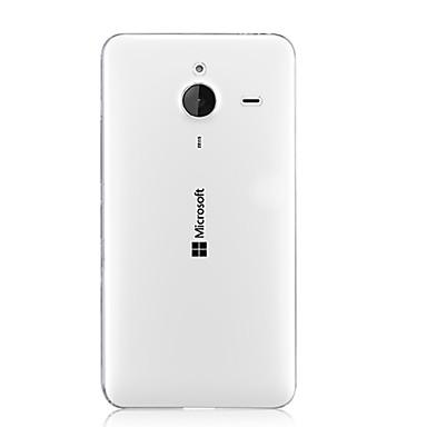 Para Capinha Nokia Transparente Capinha Capa Traseira Capinha Cor Única Rígida PC Nokia Nokia Lumia 640 XL