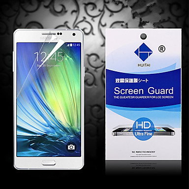 Screenprotector voor Samsung Galaxy A3 PET Voorkant screenprotector High-Definition (HD)