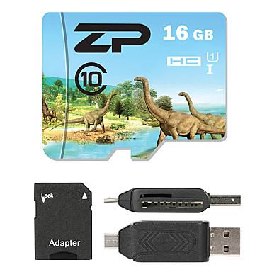 ZP 16GB بطاقة مايكرو SD بطاقة TF شريحة ذاكرة UHS-I U1 / CLASS10