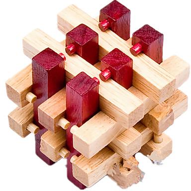 Ξύλινα παζλ Παιχνίδια σπαζοκεφαλιές IQ Παζλ Κονγκ Μινγκ Τεστ νοημοσύνης Ξύλο Αγορίστικα Δώρο