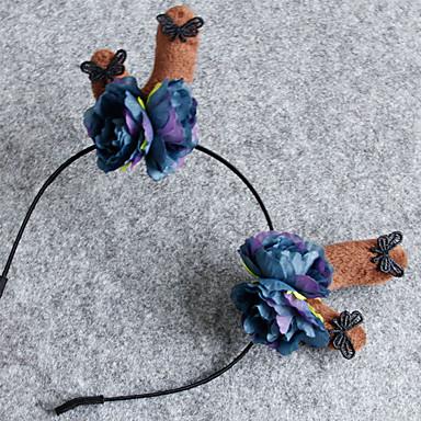 خوذة مستوحاة من Cosplay الكوسبلاي أنيمي Cosplay زينة خوذة أقمشة غير محبوكة للرجال للمرأة للأطفال