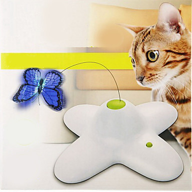 Macskajátékok Elektromos / Pillangó Műanyag Kompatibilitás Cica / Kiscica