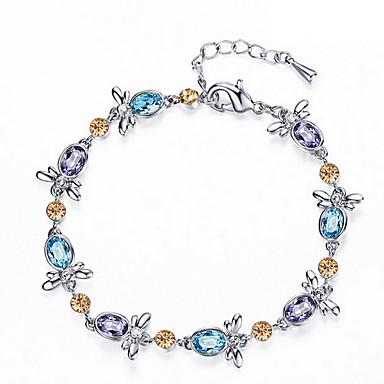 Kadın Zincir & Halka Bileklikler Strand Bilezikler Arkadaşlık Som Gümüş Mücevher Mücevher Uyumluluk Günlük