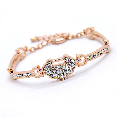 Kadın Zincir & Halka Bileklikler Arkadaşlık alaşım Mücevher Mücevher Uyumluluk Günlük