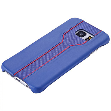 tok Για Samsung Galaxy S7 edge S7 Ανθεκτική σε πτώσεις Πίσω Κάλυμμα Συμπαγές Χρώμα Σκληρή PC για S7 edge S7 S6 edge S6