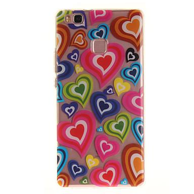 Dla huawei p9 lite p8 lite tpu materiał imd proces kolor miłość wzór telefon skrzynka dla y6ii cieszyć się 5 honor 8