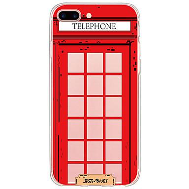 إلى قضية فون 7 اي فون 6 حالة قضية فون 5 أغط / كفرات نموذج غطاء خلفي غطاء كرتون قاسي PC إلى Appleفون 7 زائد فون 7 iPhone 6s Plus iPhone 6