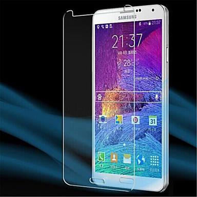 [3-pack] cristal lcd protetor de tela profissional de alta transparência clara com pano de limpeza para samsung galaxy note 4