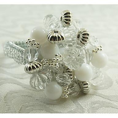 Rectangulaire Patterned / Geometric / Holiday Napkin Ring , Metalliseos materiaaliHotel ruokapöytä / Häät Party Sisustus / Häihin