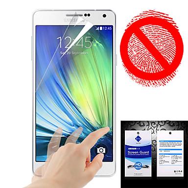 Screenprotector voor Samsung Galaxy A3 PET Voorkant screenprotector Mat