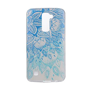 غطاء من أجل LG G3 LG K8 LG LG K10 LG K7 LG G5 LG G4 نموذج غطاء خلفي ماندالا نمط ناعم TPU إلى LG V20 LG V10