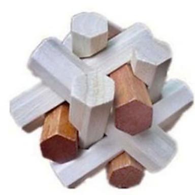 Ξύλινα παζλ Παιχνίδια σπαζοκεφαλιές Παζλ Κονγκ Μινγκ Τρισδιάστατα ξύλινα παζλ Παιχνίδια Παιχνίδια Τεστ νοημοσύνης Κοριτσίστικα Αγορίστικα