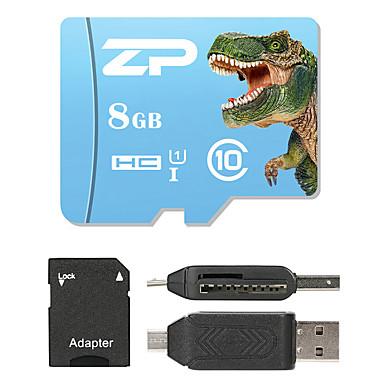 ZP 8GB MicroSD Class 10 80 Other Stwardnienie w jednym czytnikiem kart Czytnik kart Micro SD Czytnik kart SD ZP-1 USB 2.0